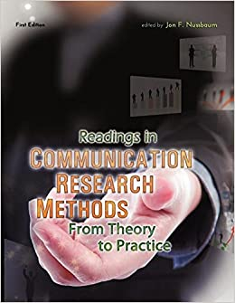 Book Readings in Communication Research Methods: From Theory to Practice