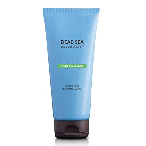 Dead Sea Essentials Algae Cleansing Lotion-Dead Sea Minerals Toning Milk & Makeup Remover-Made in Israel-Clean Cruelty Free Skincare – 6.76 Fl oz-200 ml