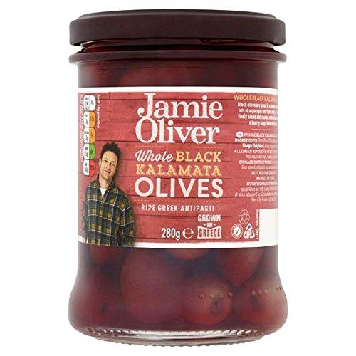 Jamie Oliver enteros aceitunas negras 245g