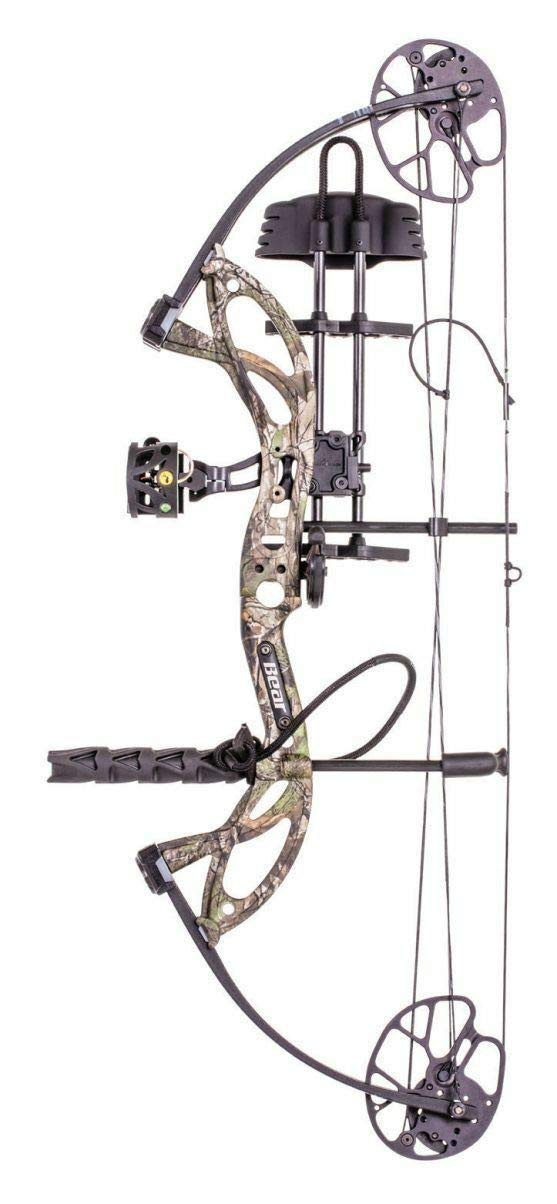 BEAR Cruzer G2 Bow 10-55 LB Realtree Edge Complete Ready to Hunt Right Hand