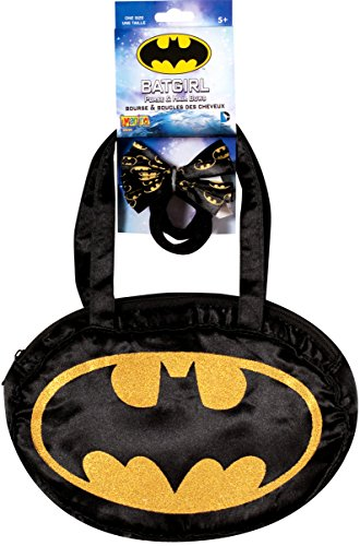 Batgirl Purse and Hair Bow -