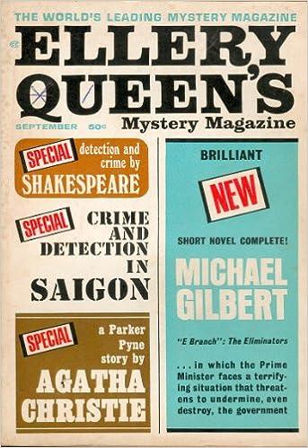 Ellery Queens Mystery Magazine September 1966 Edward D Hoch
