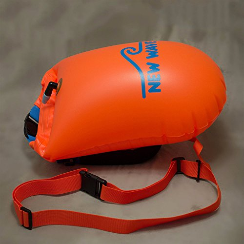 New Wave Swim Buoy Swim Safety Float And Drybag For Open