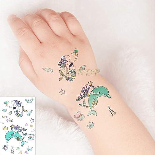 adgkitb 5piezas Impermeable Tatuaje Temporal Pegatina Sol Cohete ...