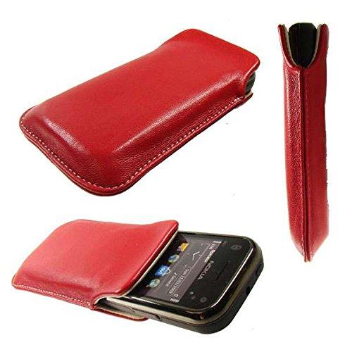 caseroxx Pouch for Nokia X3-02, Mobile Phone case in red (Nokia 02 Case X3)