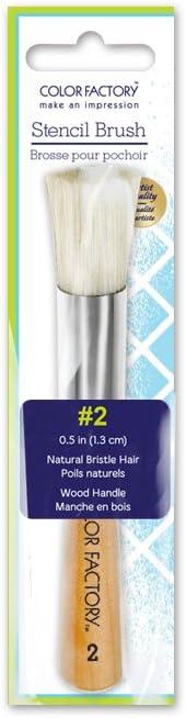 Color Factory GB020 0.5in Stencil Brush (#2)