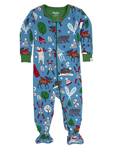 Hatley DR5KNIT322 Boys Footed Coverall
