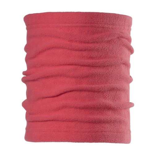 Chaos Drake Fleece Neck Gaiter, Coral, One Size