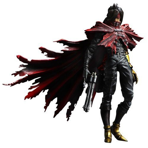 - Square Enix Final Fantasy VII: Advent Children Play Arts-Kai-Vincent Valentine Action Figure
