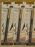 L'oreal Paris Voluminous Mistake-proof Marker Eyeliner, 451 - Black Brown - 0.056oz - 3 Pack