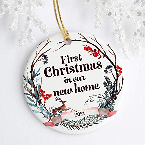 First house gift Bienvenue \u00e0 la Maison Embroidery home decor