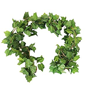 Crt Gucy 38 Ft - 5 Strands Autumn Artificial Plant Leaf Garland Fall Decoration For Home Wedding Wall Party 3