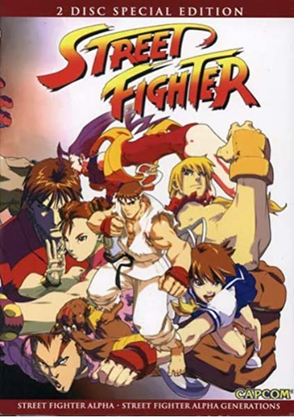 Amazon Com Street Fighter Alpha 2 Pack Street Fighter Alpha N A Movies Tv
