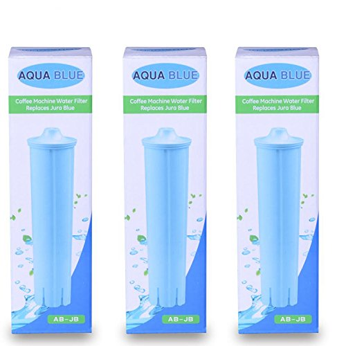 Jura Capresso Clearyl Blue Compatible Water Filter Cartridge Part 71455 NSF Certified 3-PACK