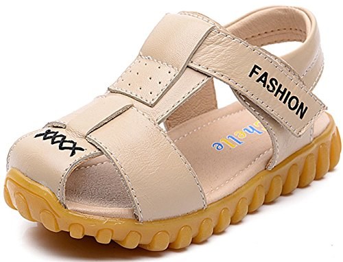 ppxid-boys-girls-magic-tape-closed-toe-outdoor-casual-sandal-beige-55-us-size