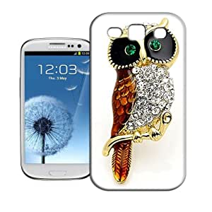 BIOIPHONECASE The owl with brick TPU Phone Case For Samsung Galaxy S3