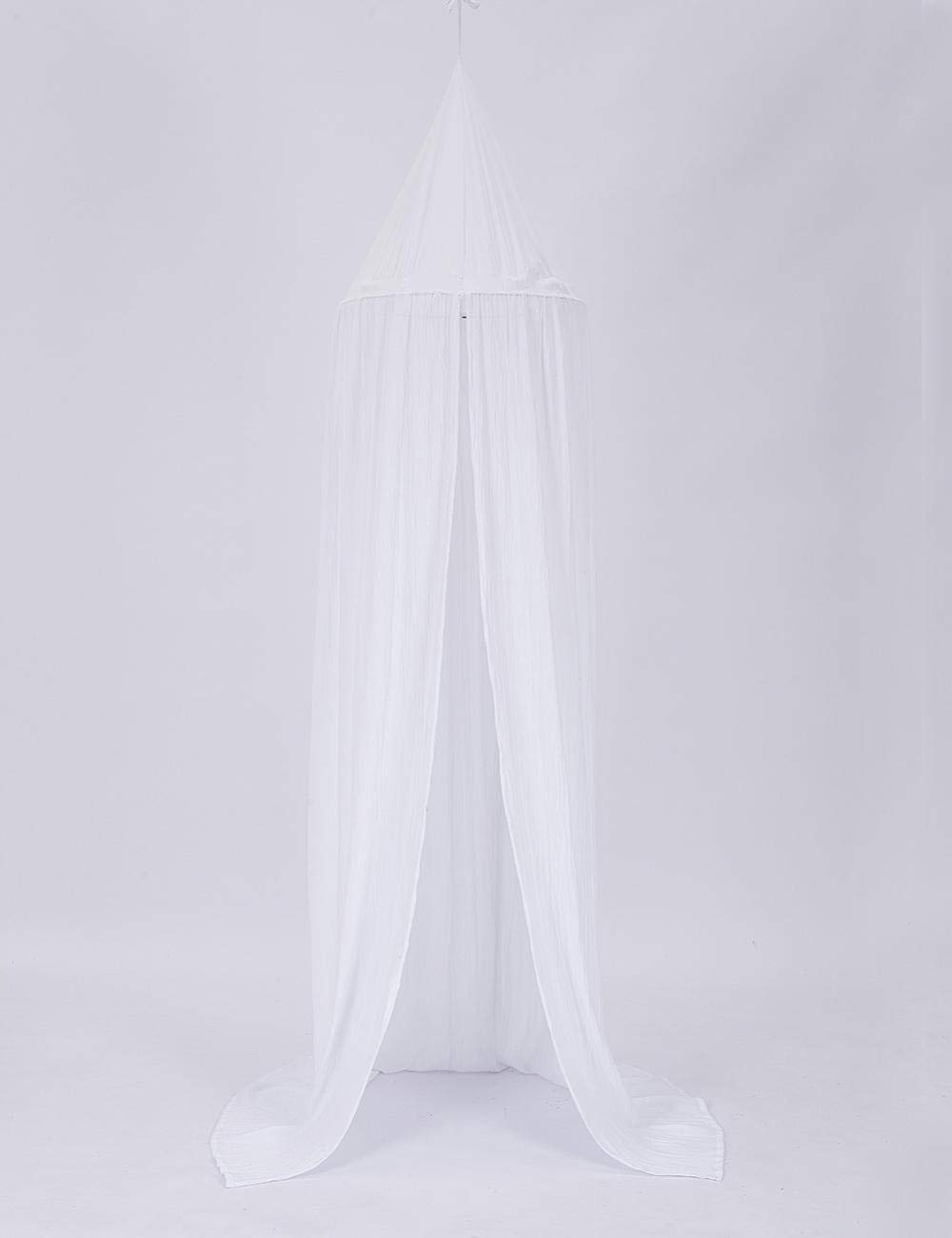 Mosquito Net Kids' Bed Canopies Play Tent Bedding Kids Playing Reading Children Dome Bed Tent@White C_Height 240