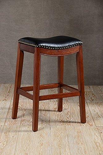 OKSLO Soft saddle seat 30h barstool, cherry - Stool 30h Bar