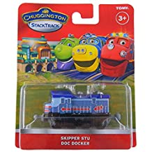 TOMY Kids Chuggington Stack Track Skipper Stu Toy Train