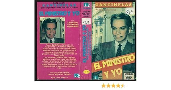 Amazon.com: El Ministro Y Yo [VHS]: Cantinflas, Chela Castro, Lucía Méndez, Ángel Garasa, Manolita Saval, Delia Peña Orta, Alonso Castano, Miguel Manzano, ...