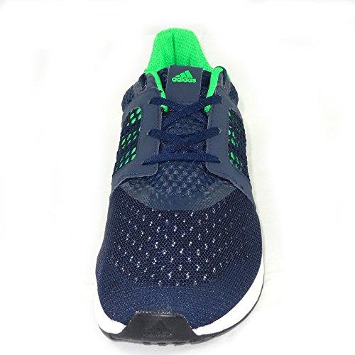 Adidas uomini blu delle scarpe da corsa yamo m 11 uk / india - ue