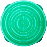 Outward Hound Kyjen  51002 Fun Feeder Slow Feed Interactive Bloat Stop Dog Bowl, Large, Blue