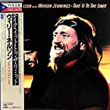 'Take It To The Limit' Willie Nelson with Waylon Jennings - Japanese pressing with Obi strip