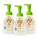 Product review for Babyganics Alcohol-Free Foaming Hand Sanitizer, Mandarin, 8.45oz Pump Bottle (Pack of 3)