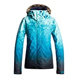 Roxy SNOW Junior's Jet Ski SE Snow Jacket, Ink Blue_SOLARGRADIENT, L