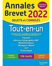 Annales BREVET 2022 Tout-en-un