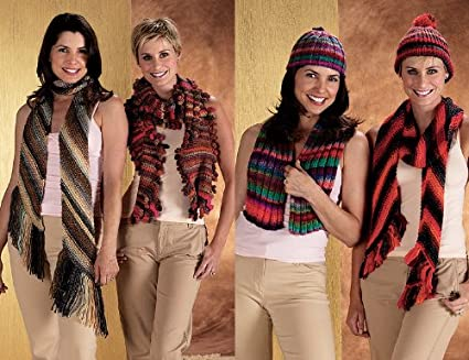 Amazon Com Tonalita Scarf Hat Variations Ribbed Scarf Scarf