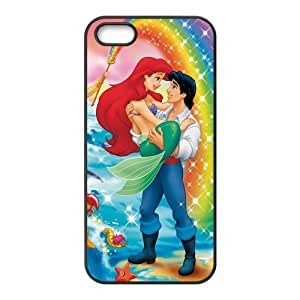 Customize Cartoon Little Mermaid Back Case for iphone5 5S JN5S-2113