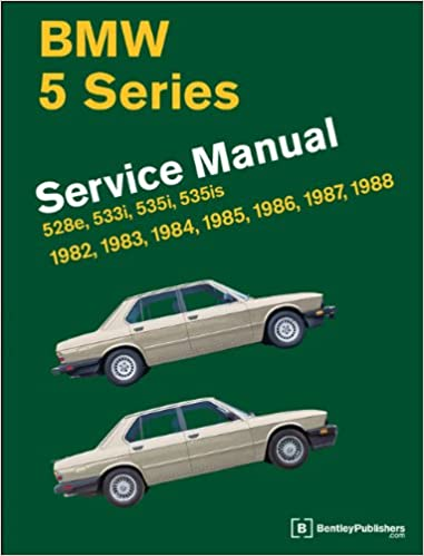 Bmw 5 series e28 service manual 1982 1983 1984 1985 1986 bmw 5 series e28 service manual 1982 1983 1984 1985 1986 1987 1988 bentley publishers 9780837616940 amazon books fandeluxe Choice Image