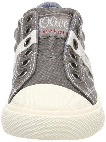 44100 Grau Oliver Grey Slip On Sneaker Jungen s qRSw14U