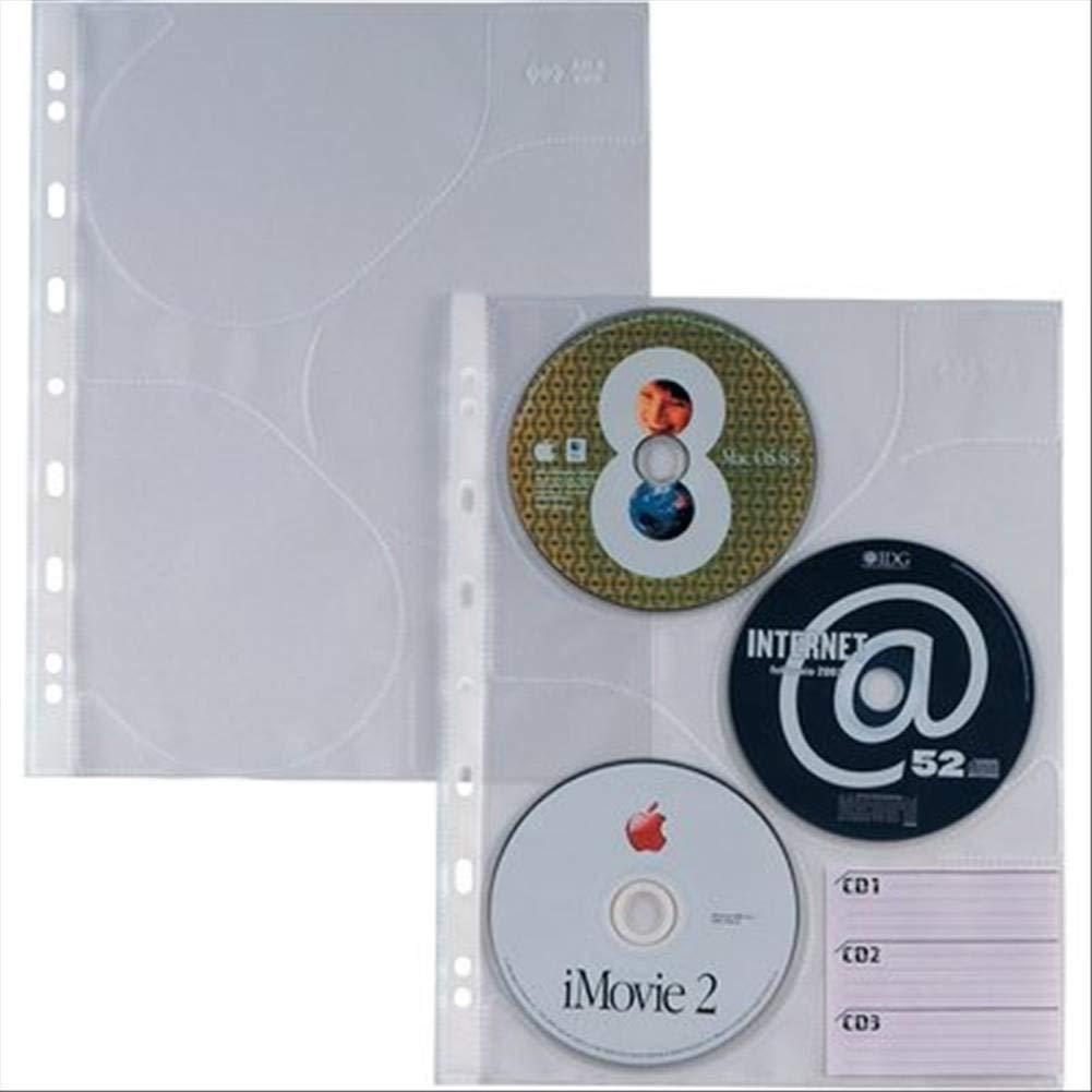 Sei rota Atla CD 3 - Fundas para Discos ópticos (Transparente ...