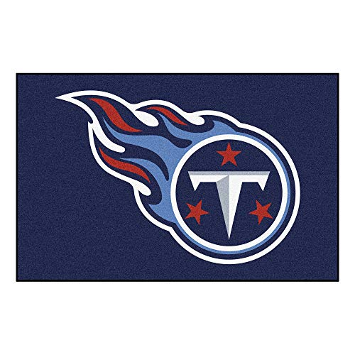 FANMATS NFL Tennessee Titans Nylon Face Starter Rug ()