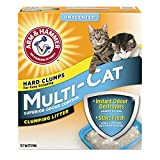 ARM & HAMMER Multi-Cat Litter, Superior Odour Control, Unscented, 12.7-kg