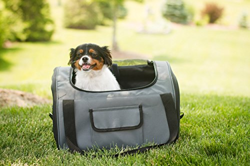 Iconic Pet FurryGo Luxury Booster Seat, Small, Dark Grey by Iconic Pet (Image #8)