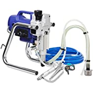 Q-Tech Q-P019 Airless Paint Sprayer Kit   Fully Serviceable Professional Paint Sprayer   Perfect for Emulsion,...