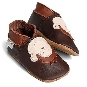 Amazon.com : Bobux Leather Baby Shoes