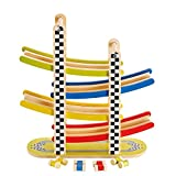Best HaPe Toys For 2 Year Old Boy Woodens - Award Winning Hape Switchback Racetrack Review