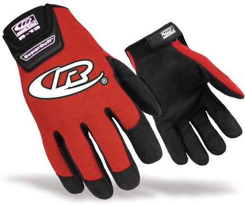Ringers 135 Authentic Gloves, Red, Large