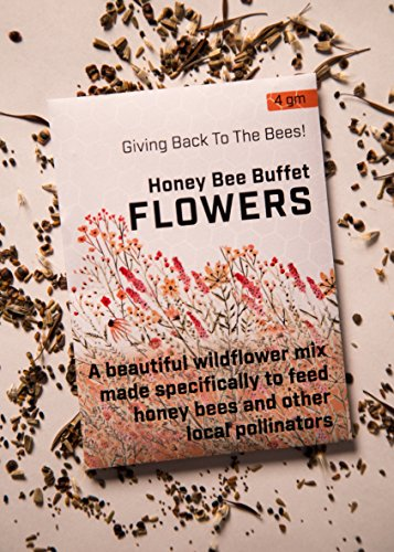 Flower Seeds for Planting 4gm - Wildflower Seeds, Bee Garden Seeds (for Honey Bees)