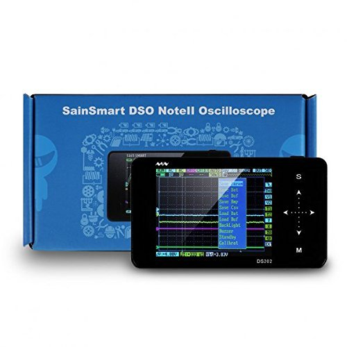 SainSmart DSO Pocket Size Portable Handheld Mini Digital Storage Oscilloscope (DSO202)