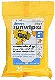 Petkin Doggy Sunwipes, 20 Count
