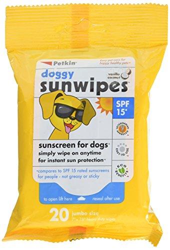 Epi Pet Sunscreen (Petkin Doggy Sunwipes, 20)