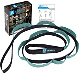A AZURELIFE Stretch Strap with 11 Loops, Elastic