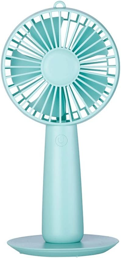 Portable Student Portable Handheld Fan with Mirror Color : Pink Dormitory Family Travel Outdoor Fan Desk Table Fans Portable Cooling Fans Mini USB Rechargeable Ultra-Quiet Fan