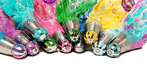 10 Ball Nozzles 1 Tricolor Coupler Fine Day Designs 3 Reusable Frosting Bags Any O/'Cakesion Russian Piping Tips Set 14 PCS for Cake//Cupcake Decorating