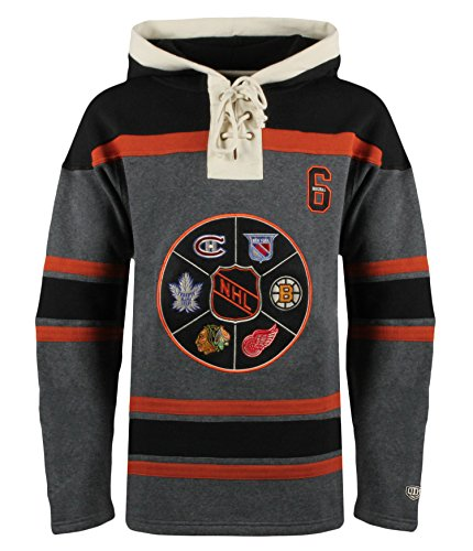 a2041f740 NHL Men s Original 6 Ronan Lace Hoodie From Old Time Hockey